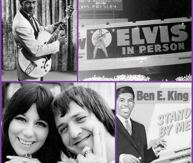 This Week In Music History – Chuck Berry, Elvis, The Beatles, Sonny & Cher & More!