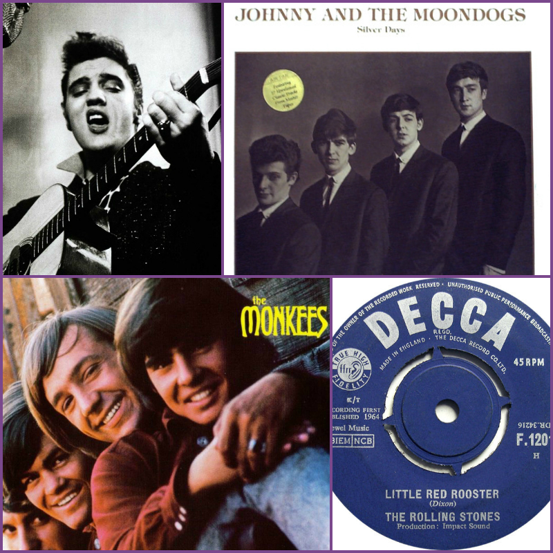 This week In Music - Elvis, Monkees, Beatles, Rolling Stones - Tino Productions Entertainment